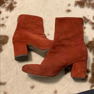 Size 39 Free People Booties